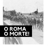 cover fumetto o Roma o morte!